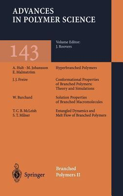 Branched Polymers II, Vol. 143 Jacques Roovers