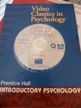 Video Classics in Psychology - Prentice Hall- Introductory Psychology  by  Compilation of Videos including Stanley