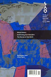 World Orders: Confronting Carl Schmitts The Nomos of the Earth  by  Alberto Moreiras