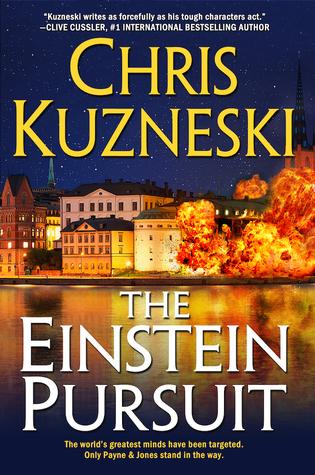 The Einstein Pursuit (Jonathon Payne & David Jones #8)  by  Chris Kuzneski