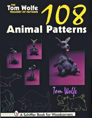 The Tom Wolfe Treasury of Patterns: 108 Animal Patterns Tom  Wolfe