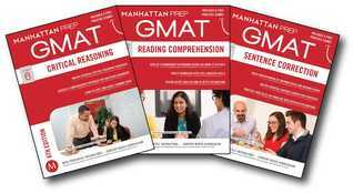 GMAT Verbal Strategy Guide Set Manhattan Prep