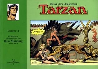 Tarzan - Volume 2 - Pranchas dominicais de Russ Manning 1970-1972 Russ Manning
