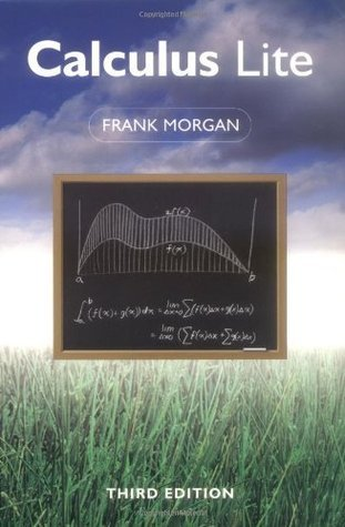 Calculus Lite, Third Edition  by  Frank Morgan