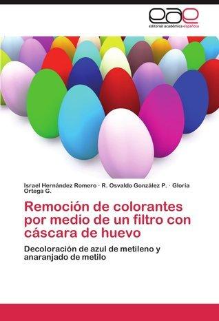 Remocion de Colorantes Por Medio de Un Filtro Con Cascara de Huevo Israel Hernandez Romero