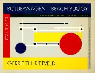 Bolderwagen De Stijl 1923 Gerrit Th. Rietveld Chris Overvoorde