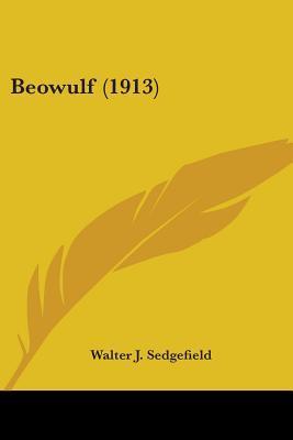 Beowulf (1913) Walter John Sedgefield