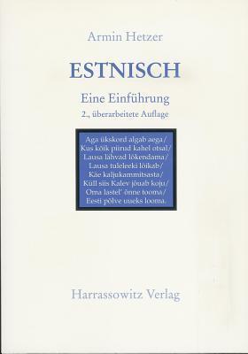 Estnisch - Buch Mit Audio-CD: Eine Einfuhrung Armin Hetzer