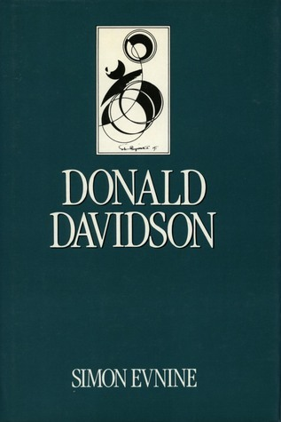 Donald Davidson  by  Simon Evnine