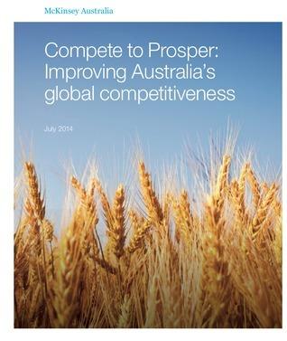 Compete to Prosper: Improving Australia's global competitiveness John Lyndon