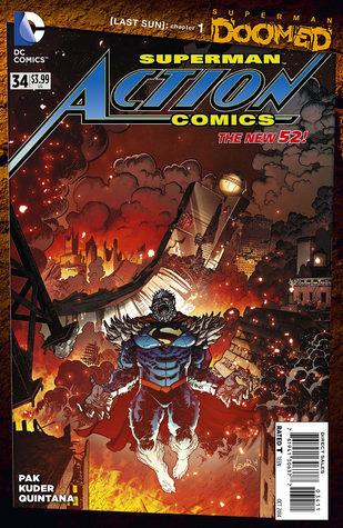 Action Comics #34 (2014)  by  Greg Pak