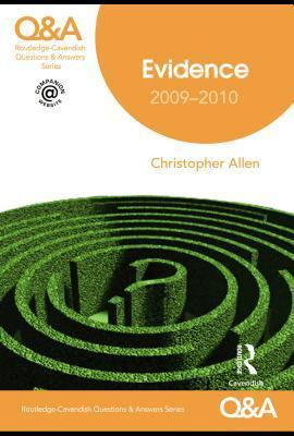 Evidence: 2009-2010  by  Christopher Allen