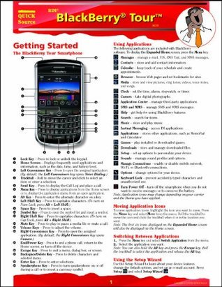 BlackBerry Tour 9630 Quick Source Guide  by  Quick Source
