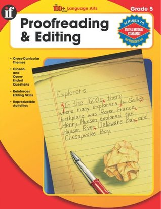 The 100+ Series Proofreading & Editing, Grade 5  by  School Specialty Publishing
