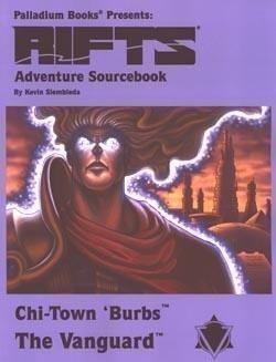 The Vanguard (Rifts Adventure Sourcebook, 4) Kevin Siembieda