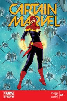 Captain Marvel #6  by  Kelly Sue DeConnick