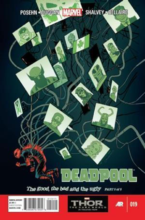 Deadpool #19  by  Brian Posehn