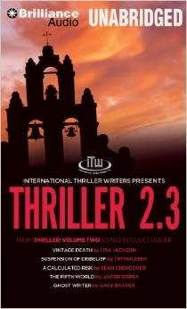 Thriller 2.3: Vintage Death, Suspension of Disbelief, A Calculated Risk, The Fifth World, Ghost Writer Lisa Jackson