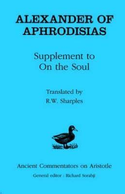 Supplement To On The Soul R. W. Sharples