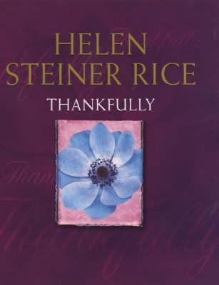 Thankfully Helen Steiner Rice