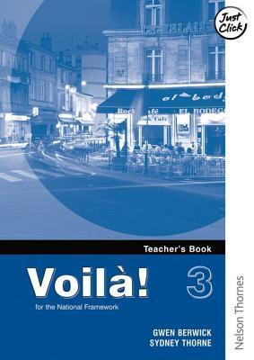 Voila! 3 Higher Teachers Book  by  Gwen Berwick