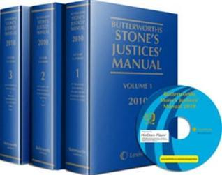 Butterworths Stones Justices Manual 2010  by  Paul Carr II