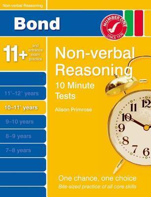 Bond 10 Minutes Tests Non-Verbal Reasoning 10-11+ Yrs  by  Sarah Lindsay
