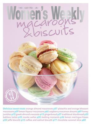 Macaroons And Biscuits The Australian Womens Weekly