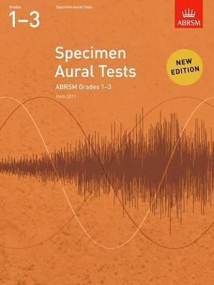 Specimen Aural Tests Grades 1-3  by  Associated Board of the Royal Schools of Music
