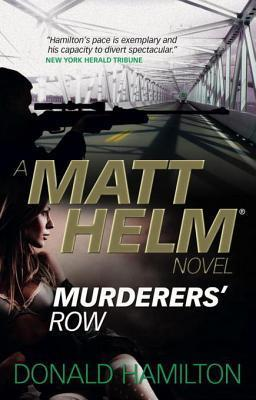 Matt Helm - Murderers Row  by  Donald Hamilton
