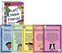 Lets Make Friends! Card Game Max & Marcia Nass