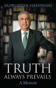 Truth Always Prevails: A Memoir Sadruddin Hashwani