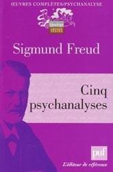 Cinq psychanalyses Sigmund Freud