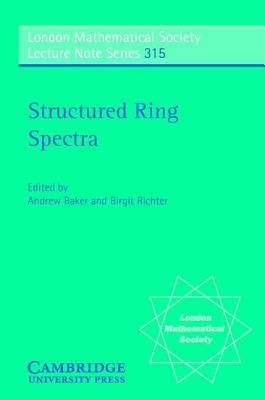 Structured Ring Spectra Andrew Baker