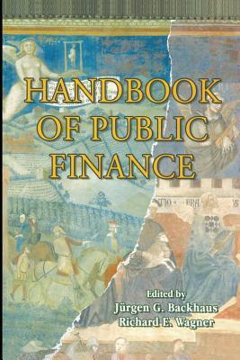 Handbook of Public Finance Jurgen Backhaus