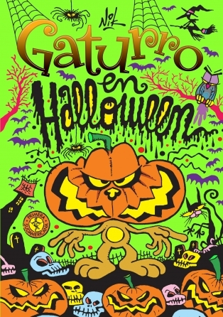 Gaturro en Halloween  by  Nik