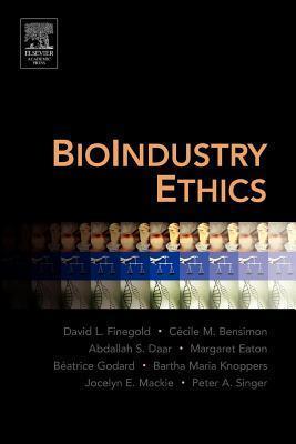 Bioindustry Ethics David L. Finegold