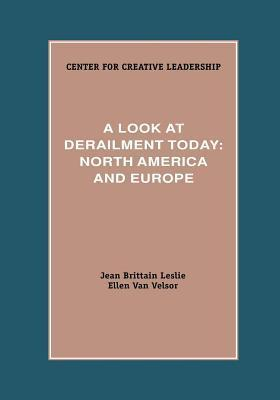 Look at Derailment Today: North America and Europe Jean Brittain Leslie