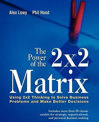 Power of the 2 X 2 Matrix: Using 2 X 2 Thinking to Solve Business Problems and Make Better Decisions  by  Alex Lowy
