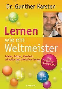 Lernen wie ein Weltmeister  by  Gunther Karsten
