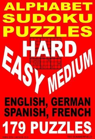 Alphabet Sudoku Puzzles Ted Summerfield
