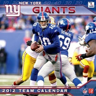 New York Giants Calendar Perfect Timing
