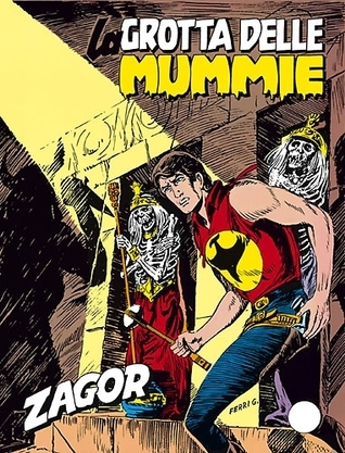 Zagor n. 236: La grotta delle mummie Marcello Toninelli