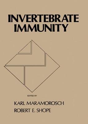 Invertebrate Immunity Karl Maramorosch