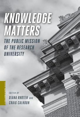 Knowledge Matters Diana Rhoten