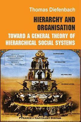 Hierarchy in Organization: Toward a General Theory of Hierarchical Social Systems Thomas Diefenbach