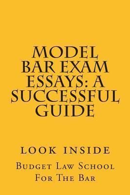 Model Bar Exam Essays: A Successful Guide: A Model Bar Exam Essay Answers the Question: Who Is in Trouble Under the Law in This Situation, to What Extent, and What Are the Defenses?  by  Budget Law School For the Bar