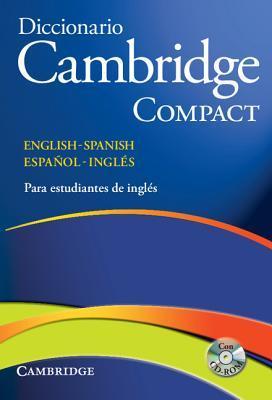 Diccionario Bilingue Cambridge Spanish-English Paperback Compact Edition [With CDROM] Josep M. Mas