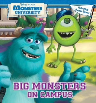 Big Monsters On Campus: Book with Picture Viewer Walt Disney Company