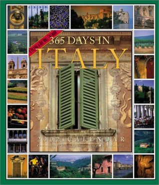 365 Days in Italy Picture-A-Day Calendar 2002  by  Patricia Schultz